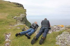 Cliff ledge