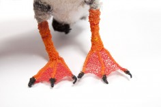 Puffin from the Bird Yarns project, part of Cape Farewell's Sea Change programme.