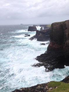 Cliffs north Shetland